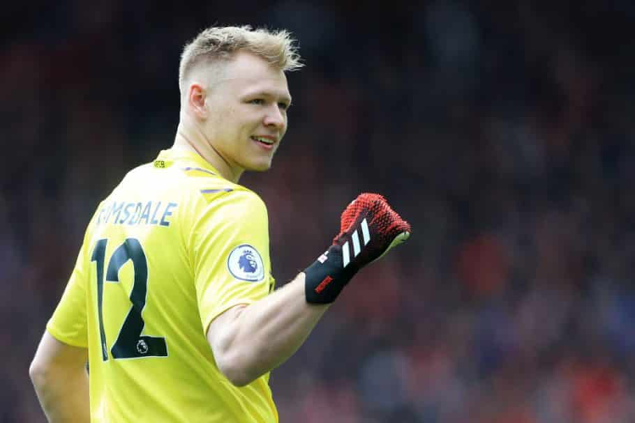Aaron Ramsdale throws gauntlet;  challenge Bernd Leno for number one status