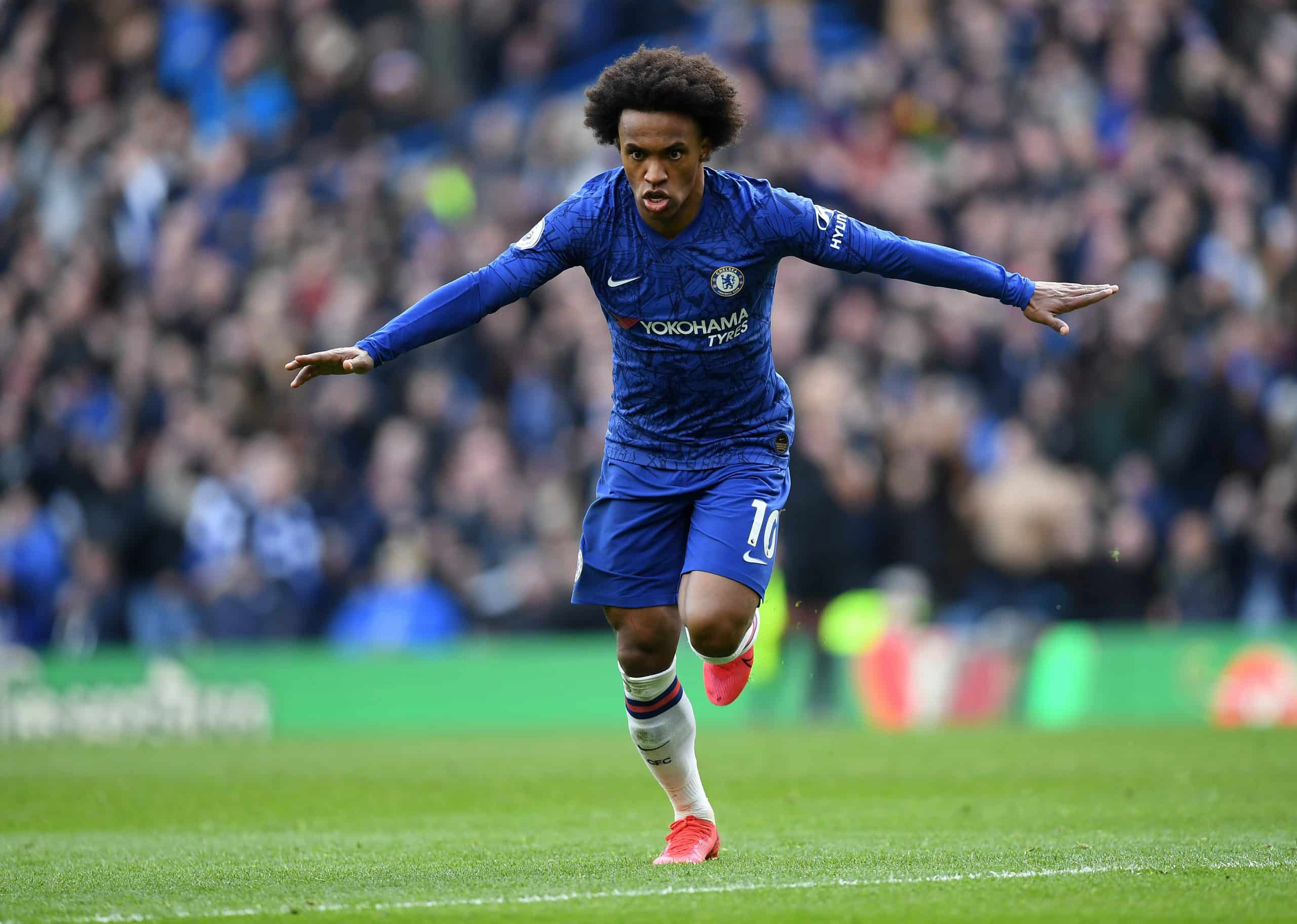Willian Agrees Extension To See Out Season With Chelsea