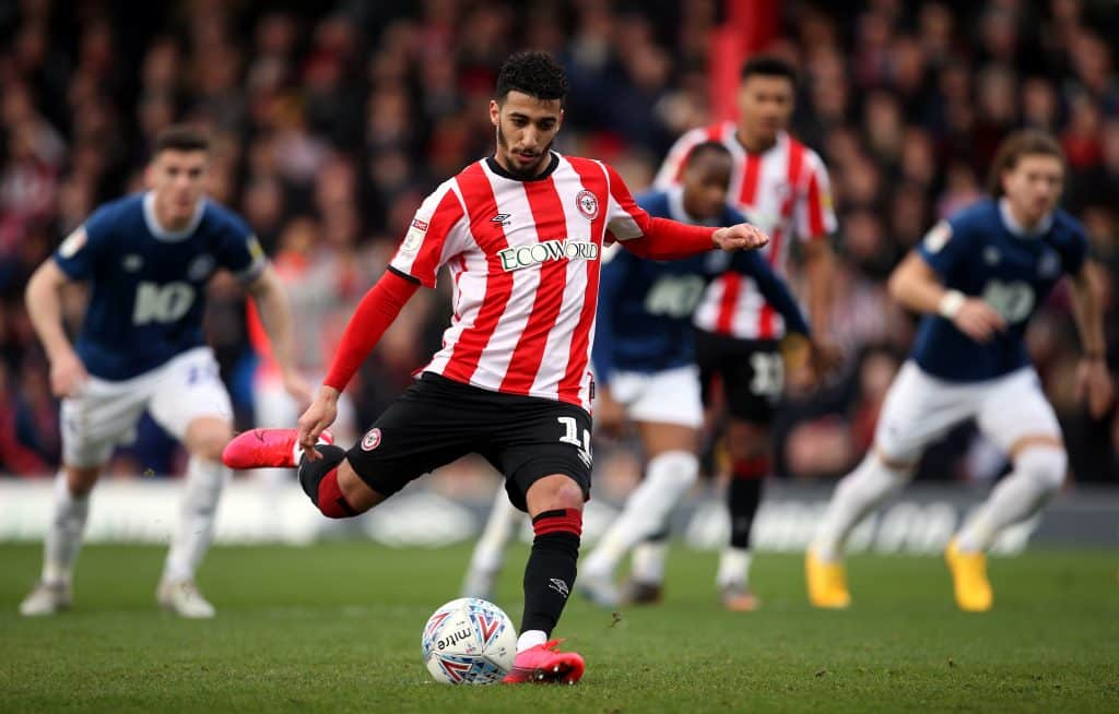 Moroccan international Fahd Moufi indicates that Brentford's Said Benrahma is joining Chelsea - 101 great goals