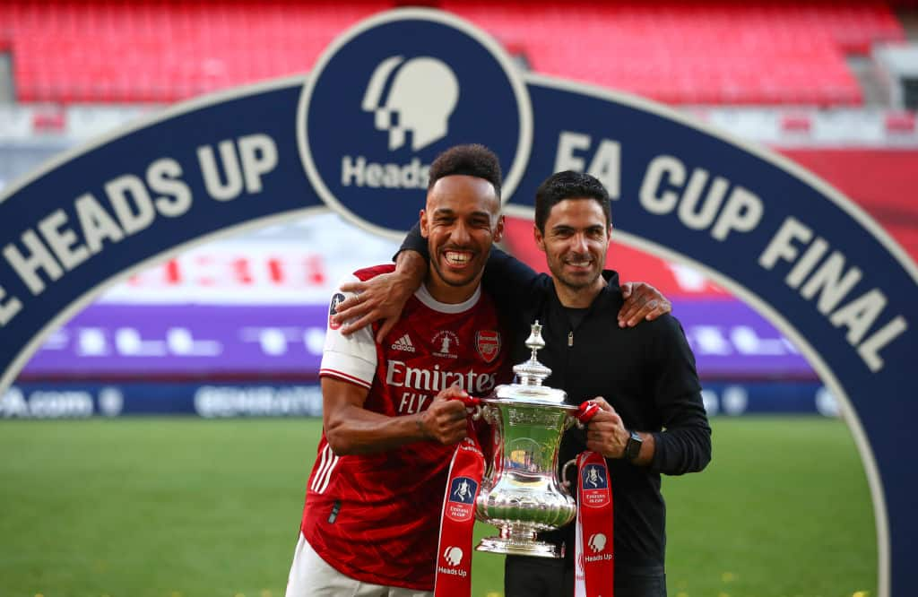 Arsenal 'on the brink' of tieing Pierre-Emerick Aubameyang down to new 3-year deal - 101 great goals