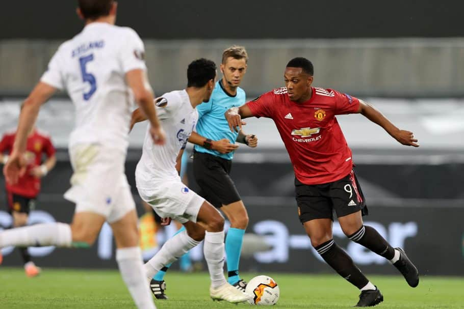 Man United boss Solskjaer 'not worried' about Martial amid struggles in front of goal