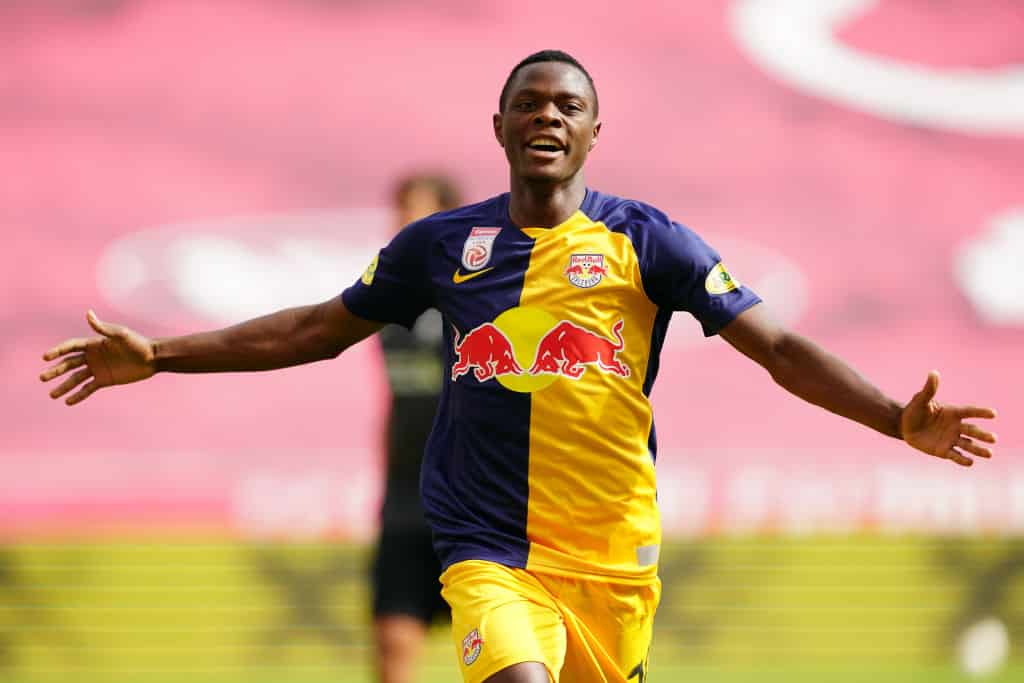 West Ham striking target Patson Daka's agency says player is 'fully committed' to Red Bull Salzburg