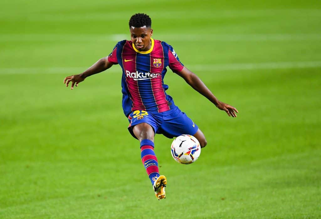 Ansu Fati continues to make history as Barcelona starlet named La Liga's best for September