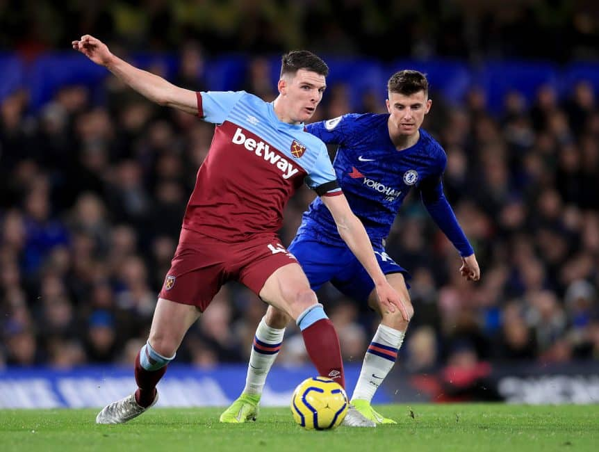 Manchester United to explore possibility of signing Declan Rice as part of any deal with West Ham for Jesse Lingard
