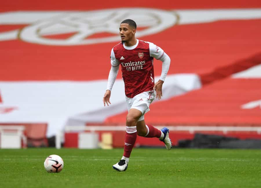 Arsenal loanee Saliba bags award following first month with Nice, but Mustafi's Schalke stint is off to a rough start