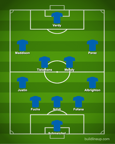 Predicted Leicester XI vs Everton