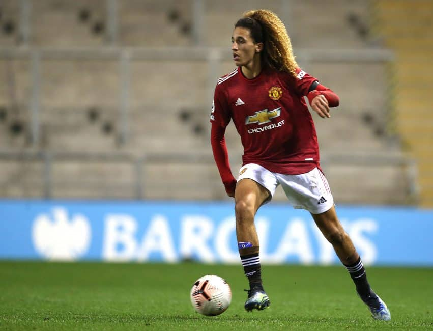 First-team on the horizon? Hannibal Mejbri beats out Shoretire and more to bag Man United award