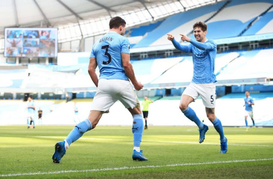 Stones & Dias come up trumps against impressive West Ham to extend Man City's winning run to 20 games