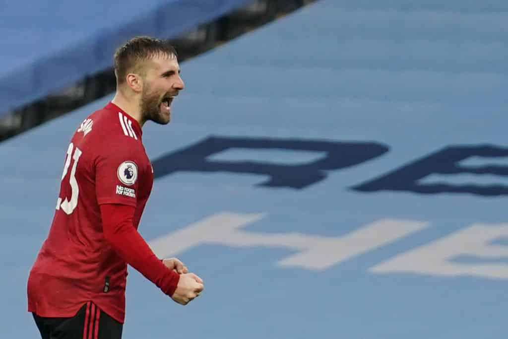 Luke Shaw knocking on Gareth Southgate's door following latest starring display as Man United end Man City's 21-game winning run - 101 great goals