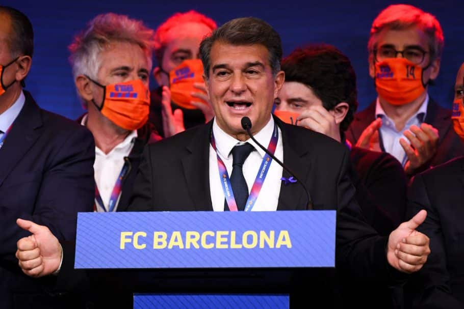Laporta tells Messi that he and Barcelona love him and will do all they can to make him stay