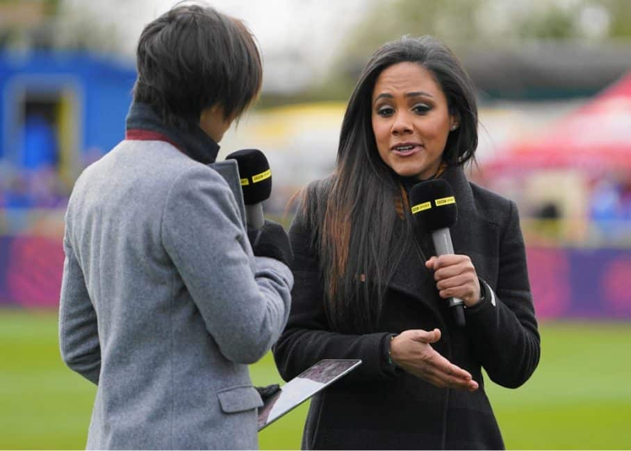 Alex Scott makes FIFA history as first female commentator for next game