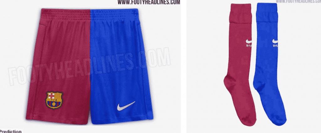 Fresh photos of Barcelona's new look 2021/22 home kit delicious before release on Tuesday