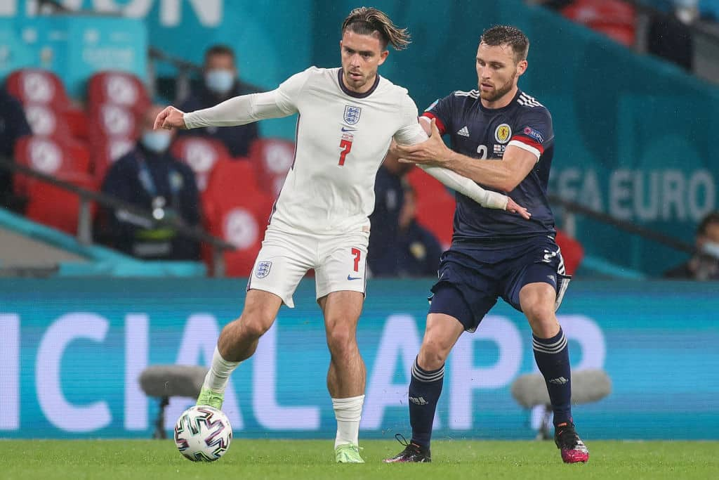Scotland's Stephen O'Donnell on using John McGinn's advice to get at Jack Grealish: 'I love your calves' - 101 great goals