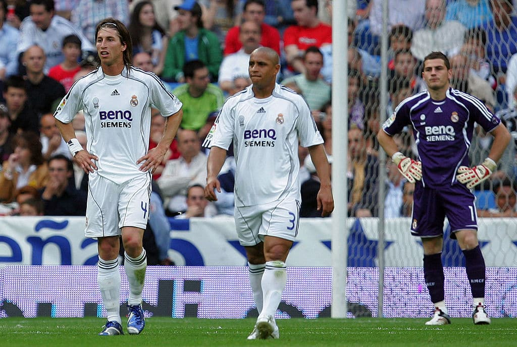 Roberto Carlos' reaction said it all when he was asked about Sergio Ramos' move to PSG