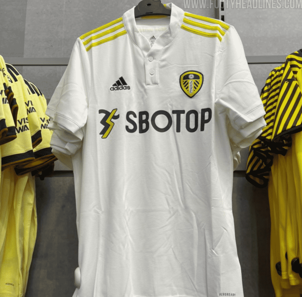 Leeds United's 2021/22 home kit leaked as Firpo deal inching closer