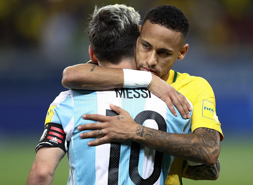 Incredible scenes in South America as Brazilian health authorities take to pitch mid-game to force Lo Celso, Martinez and Argentine stars off