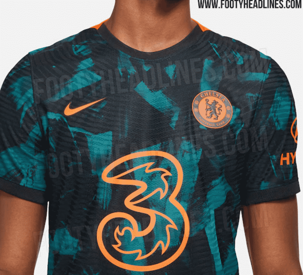 The first official photos of the Chelsea 2021/22 third kit leak online