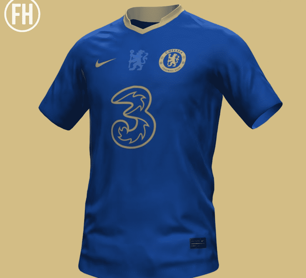 First look at the rumored Chelsea 2012 Champions League anniversary kit leaked online