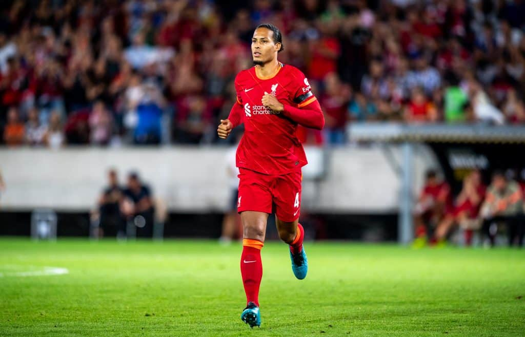 Virgil van Dijk of Liverpool explains why it is very difficult to play against Erling Haaland