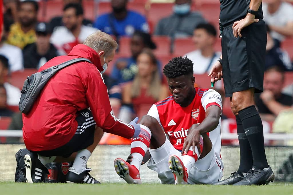 Arsenal's Thomas Partey takes to social media to provide update on injury recovery