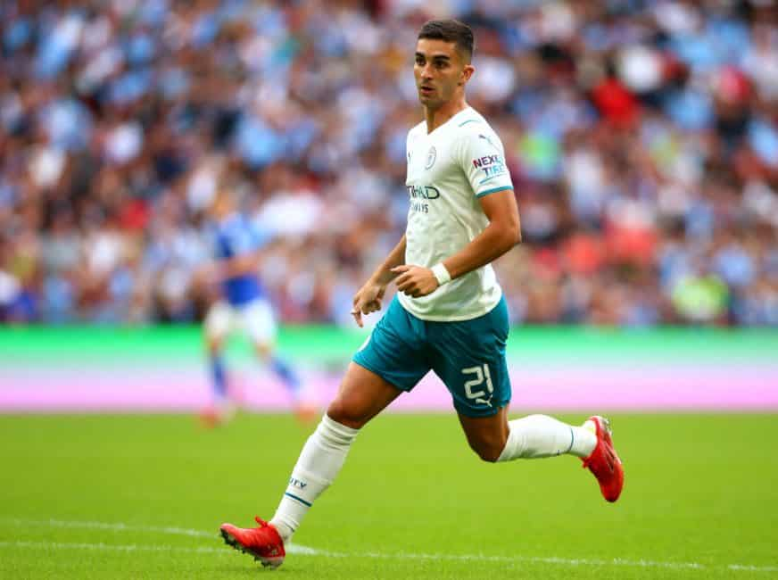 Manchester City's Ferran Torres describes his goals and what he would like to improve in 2021/22
