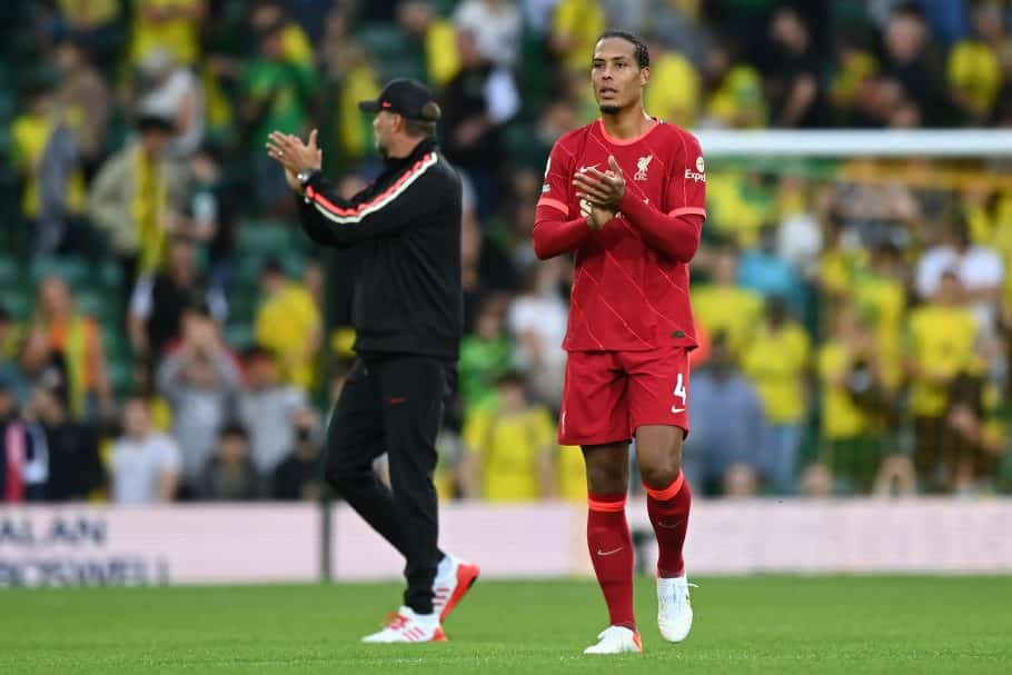 What Liverpool's Virgil van Dijk said after possible injury with the Netherlands