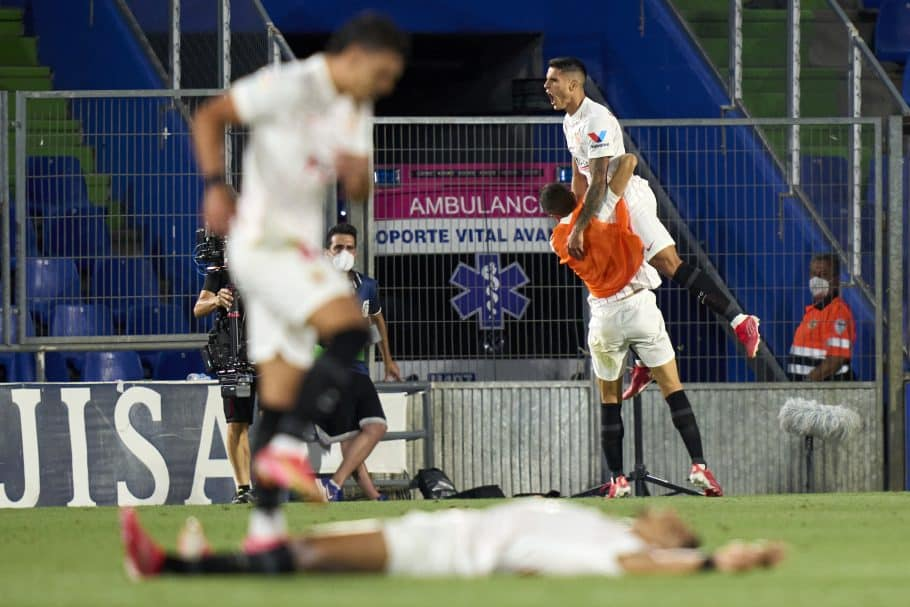 Former Premier League stars shining across the continent: After Abraham's stellar Roma debut, Lamela takes last-minute winner