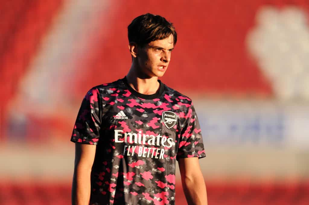 Patino & Hutchinson train with the Arsenal first team, as increased exposure suggests future inclusion