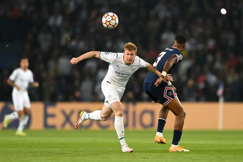 'Double standards': Why some Man United fans are unhappy following Kevin De Bruyne decision vs PSG - 101 great goals