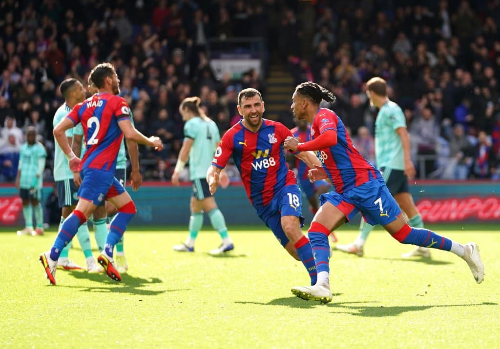 Training ground footage confirms Crystal Palace's big push ahead of Arsenal