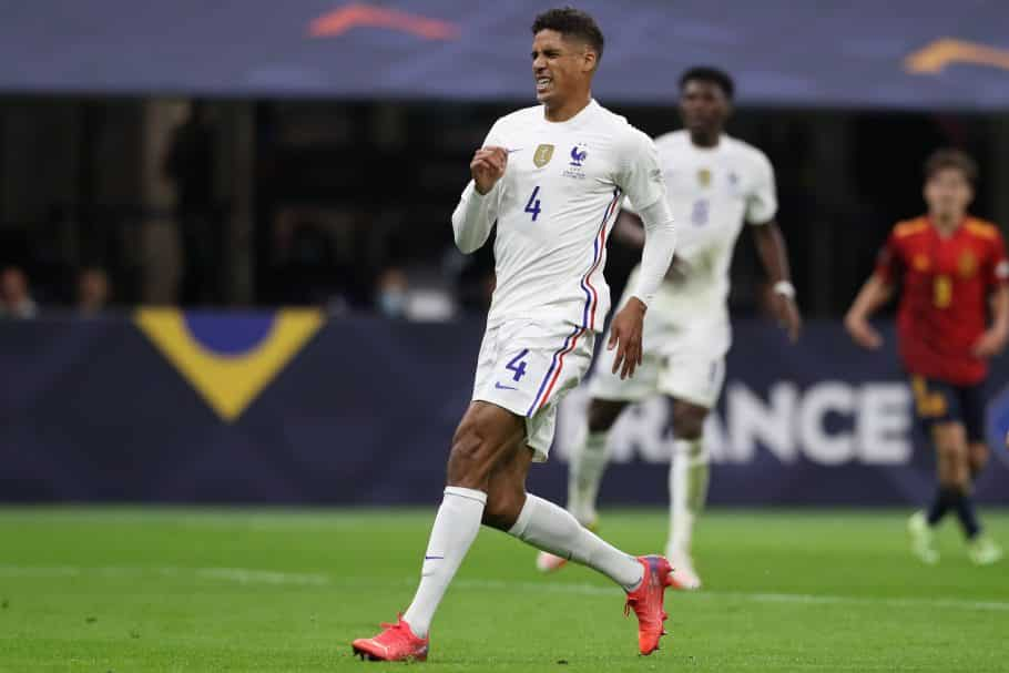 Manchester United fans will love what Raphael Varane did before the Nations League final